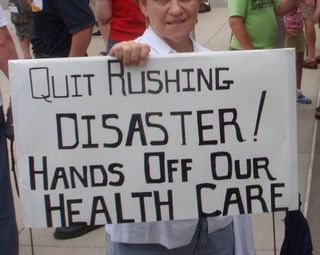 Rushing health care